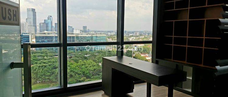 SUPER MURAH! UNIT READY TO USE    OFFICE SPACE DISTRICT 8 SCBD ( FITTING OUT FINISHING )