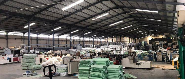 Ex Pabrik kawasan Industri Mekar Jaya cocok gudang harga Murah