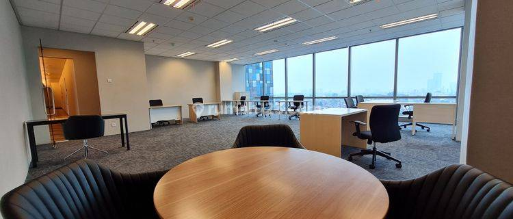 Fully Furnish Office 104sqm at Kota Kasablanka Included AC & Electricity Access 24hours