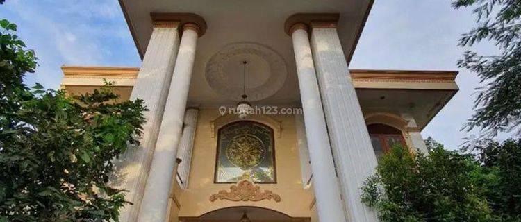 MURAHHH!!! SIAP HUNI RUMAH MEWAH FURNISHED 2 LANTAI DI GEBANG SARI, BAMBU APUS, JAKARTA TIMUR