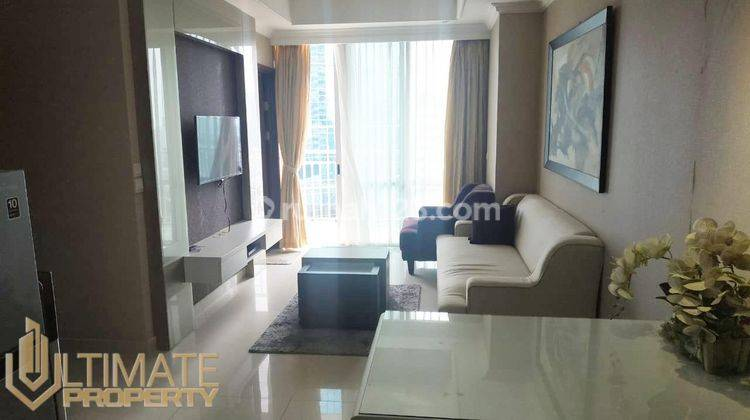 APARTMENT DENPASAR RESIDENCE TOWER UBUD LOW FLOOR 2 BEDROOM 60M2  FURNISHED BY IP ULTIMATE PROPERTY