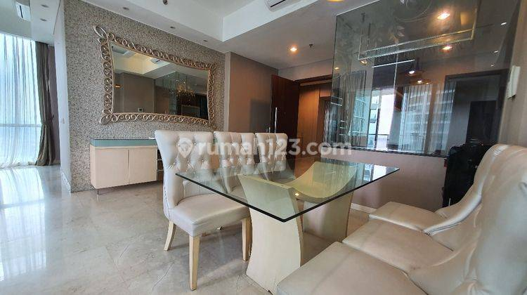 Kemang Village Ritz Tower 2BR + Study Room, High Ceiling Private LIft Acces to Lippomal Kemang