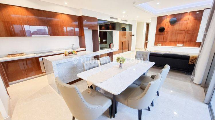 Apartemen The Elements at Epicentrum Kuningan – Private Lift - 3 Bedroom Furnished - Big Balcony 2