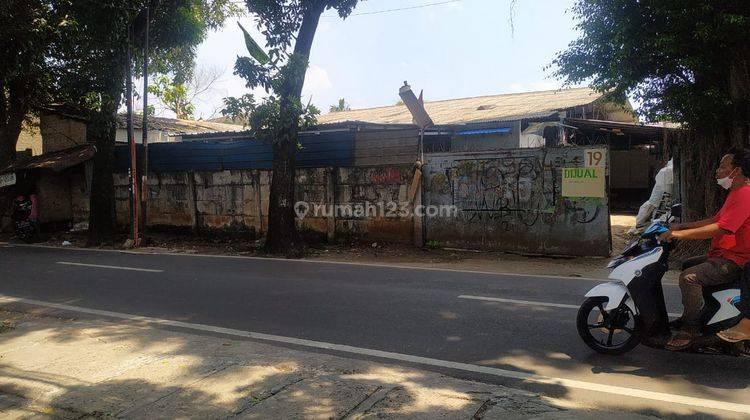 Gudang Hit Tanah Jl Haji Saaba Meruya Udik Jakarta Barat Bawah Pasar