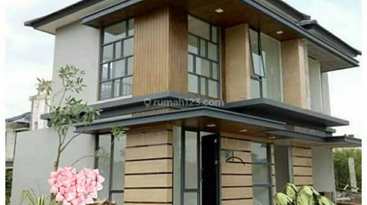 Rumah Modern minimalis serpong 6