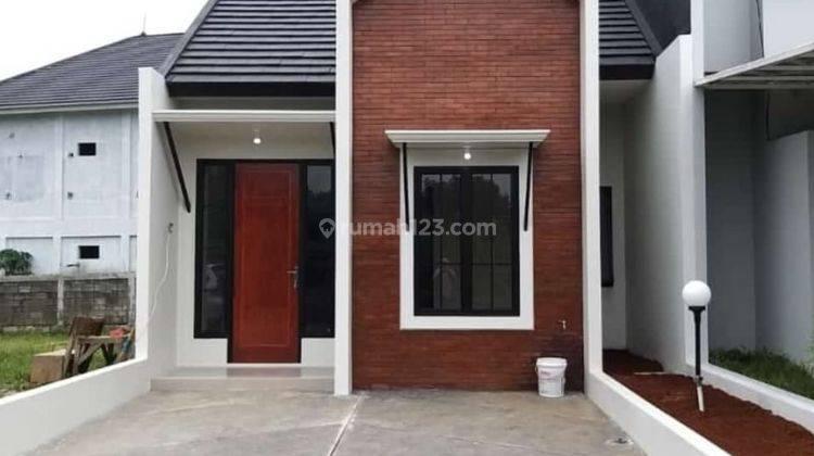 Rumah baru siap huni,bebas banjir,lokasi strategis & Mutiara Cibinong 6