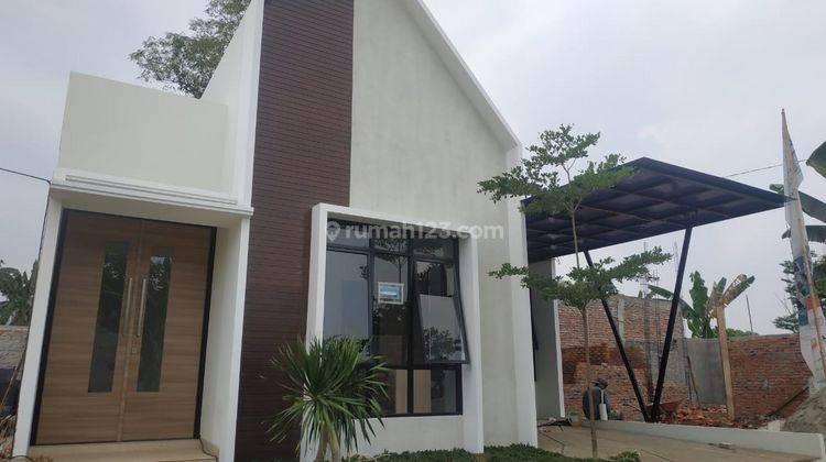 Rumah Skandinavia Eksklusif dekat Tol Pondok Cabe Bonus Kanopi