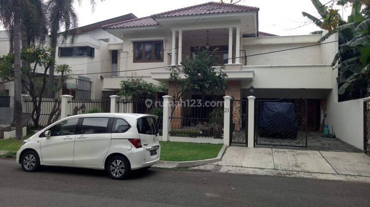 Rumah Asri area elit Kencana Permai Pondok Indah, jakarta Selatan 11