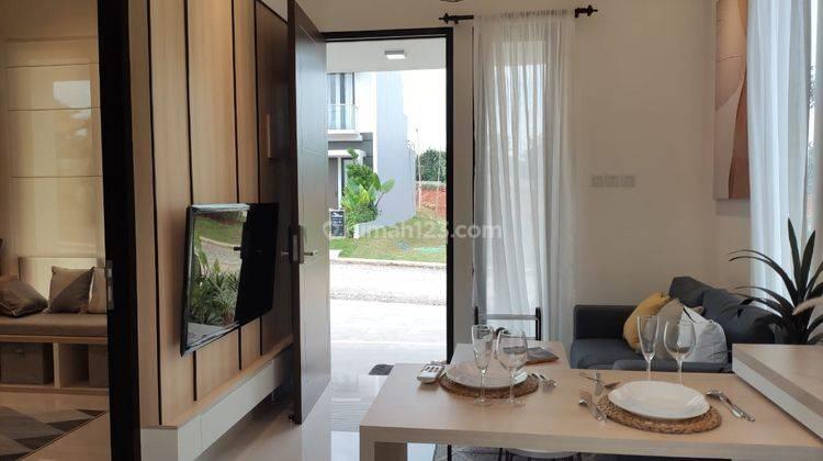 Rumah 2 Lantai di Cibubur Hanya 2 Menit ke Gerbang Tol Jatikarya 5