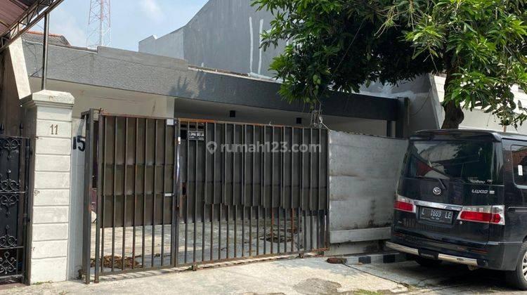 Rumah Simpang Darmo Permai Utara Surabaya Baru Renov - SHM