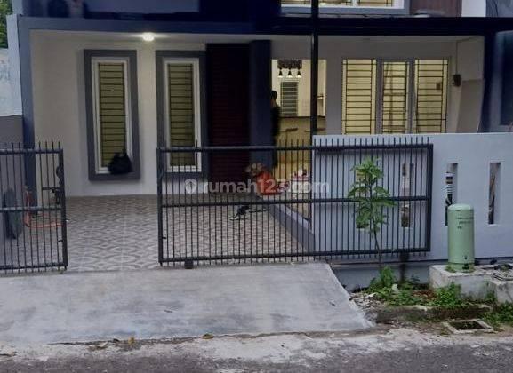Rumah baru semi furnished siap huni di kencana loka bsd tangerang