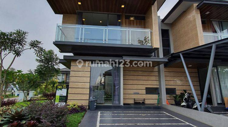 Rumah Keren, Minimalist Modern, Nuansa Resort di Serpong 1