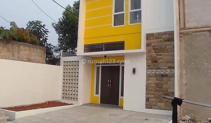 Rumah 2 lantai di Jl. Abdul Wahab, Cinangka selangkah ke Alfamart 1