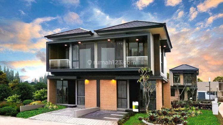 Rumah Murah minimalis Crystal Balcony dekat Golden Stone Serpong 1