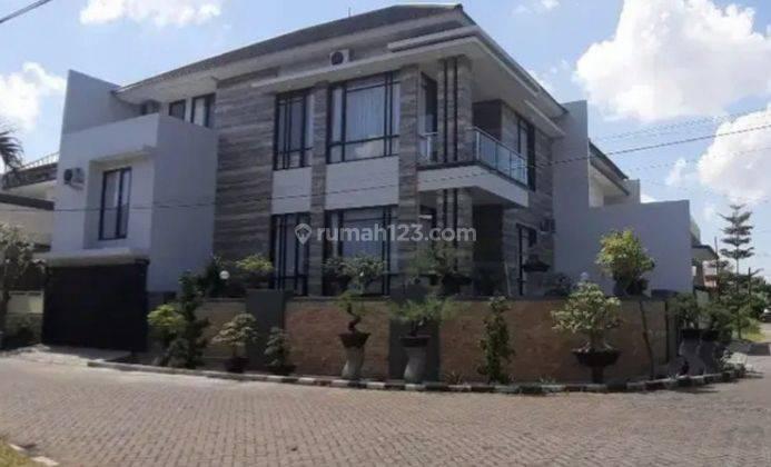 NEW 5+1 Rumah Babatan Pratama Wiyung Furnish LUX - Garasi 4 mobil