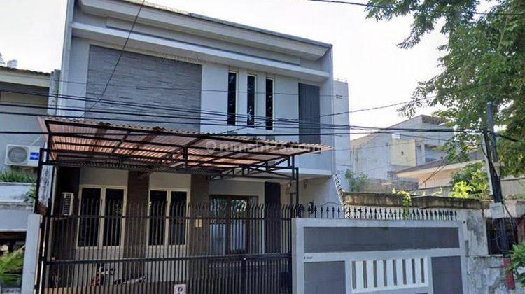 Chandra*Rumah Bagus Uk 8.5X25M Lokasi Di Jalan Besar Komplek Kavling Polri 1