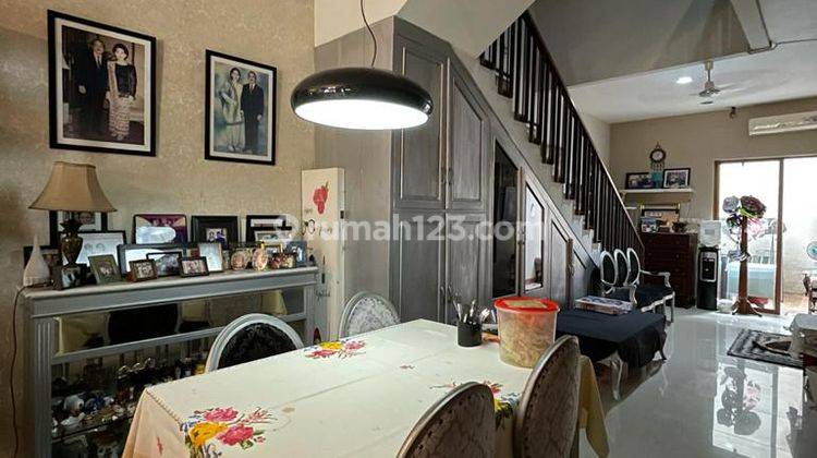TURUN HARGA!!! Rumah Cantik Harga Menarik Dalam Townhouse Elite Bangka Jakarta Sekatan 4