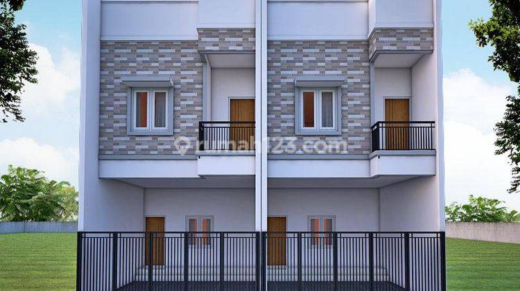 CHANDRA*rumah baru 3 lantai uk 5x15m lokasi bagus taman ratu 2