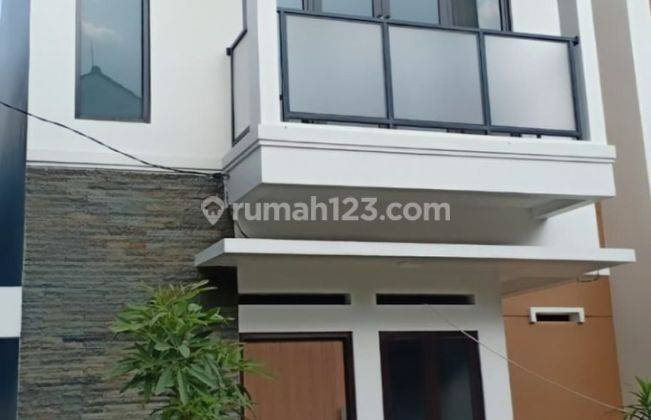 Rumah SmartHome 2 lantai murah FREE Biaya Biaya Pinggir Jalan Depok