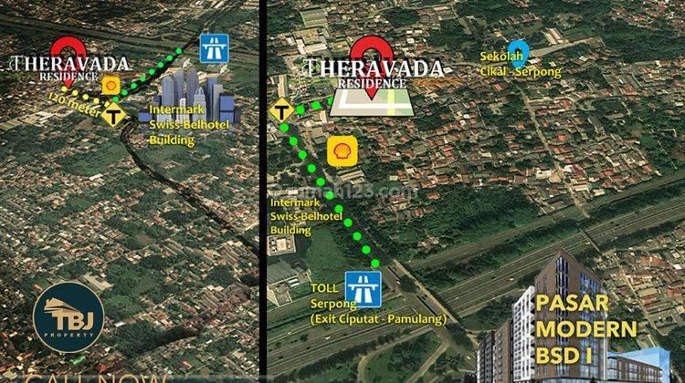 Bagus Thai Style BSD, t105m2 Strategis ke Tol Serpong! 14