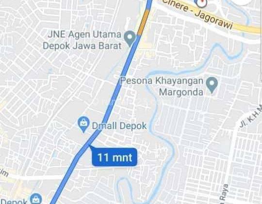 Rumah mewah 2 Lantai Lokasi SUPER STRATEGIS di Pusat Kota Depok hanya 10 menit ke stasiun depok 7