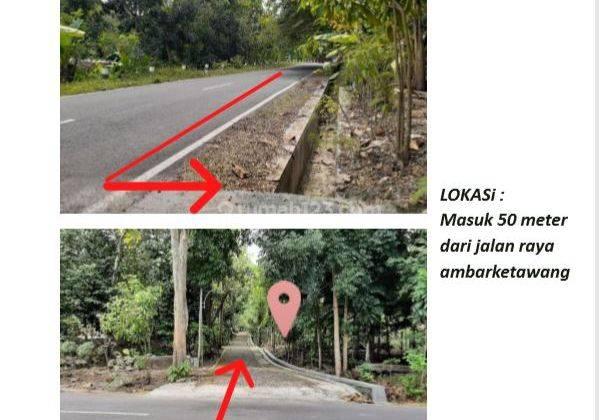 Tanah Kavling Cluster di Ambarketawang Gamping, 50 Meter dari Jalan Utama 2